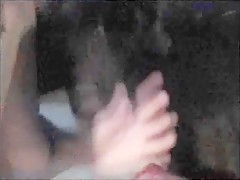 Girl with dog in WEB CAM 2