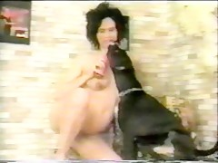 Giselle anal sex with dog